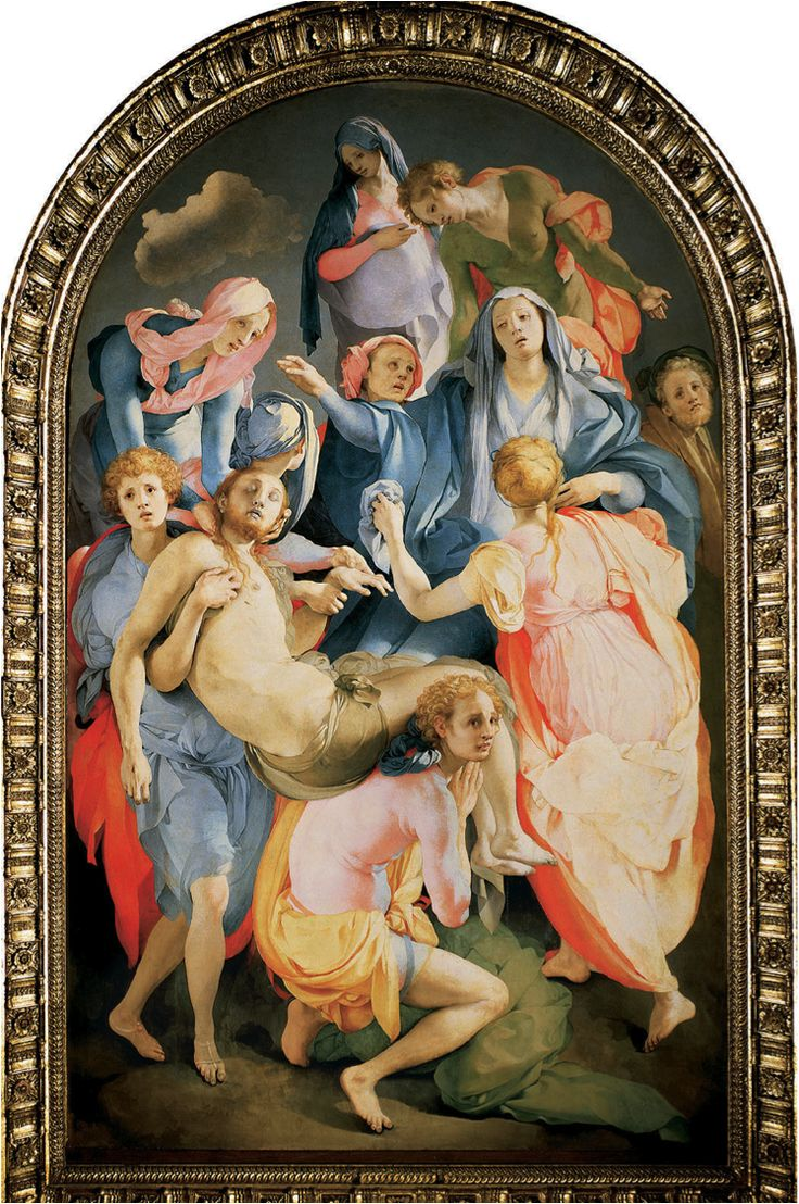 Capponi chapel santa felicita florence jacopo pontormo descent from the cross find this pin and more on art history