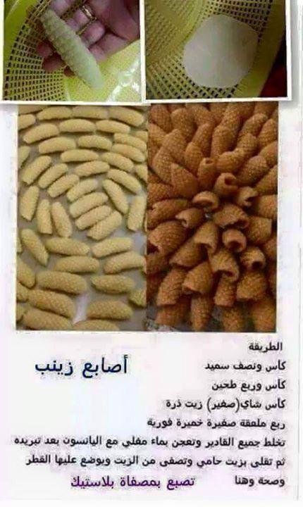 Biscuits :Les doigts de Zineb
