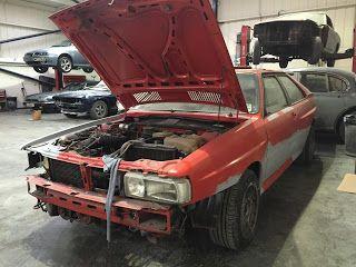 Workshop Projects: 1984 Audi Quattro ur - Car Auto Reviews