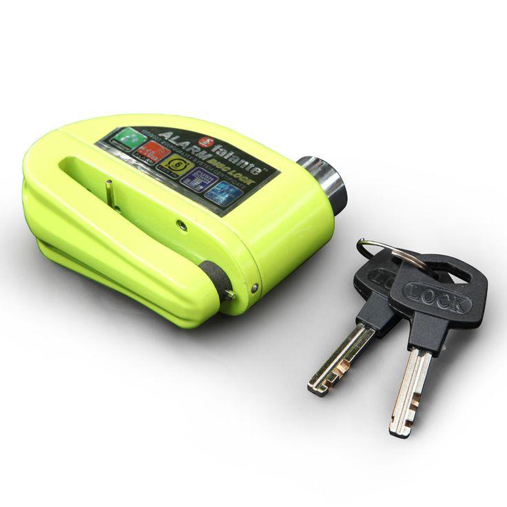 Bike alarm disc brake lock security 110 db loud security motorcycle alarm lock anti-theft Waterproof bicycle lock