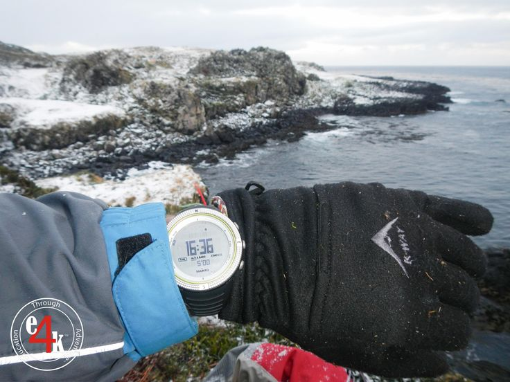#KWAY #CapeUnionMart #Gloves working over time on Marion Island in the Sub-Antarctic as base layers while collecting Scientific samples @capeunionmart @Suunto @JohnLucas_co_za #explore4knowledge #e4k