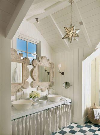 beach house bath