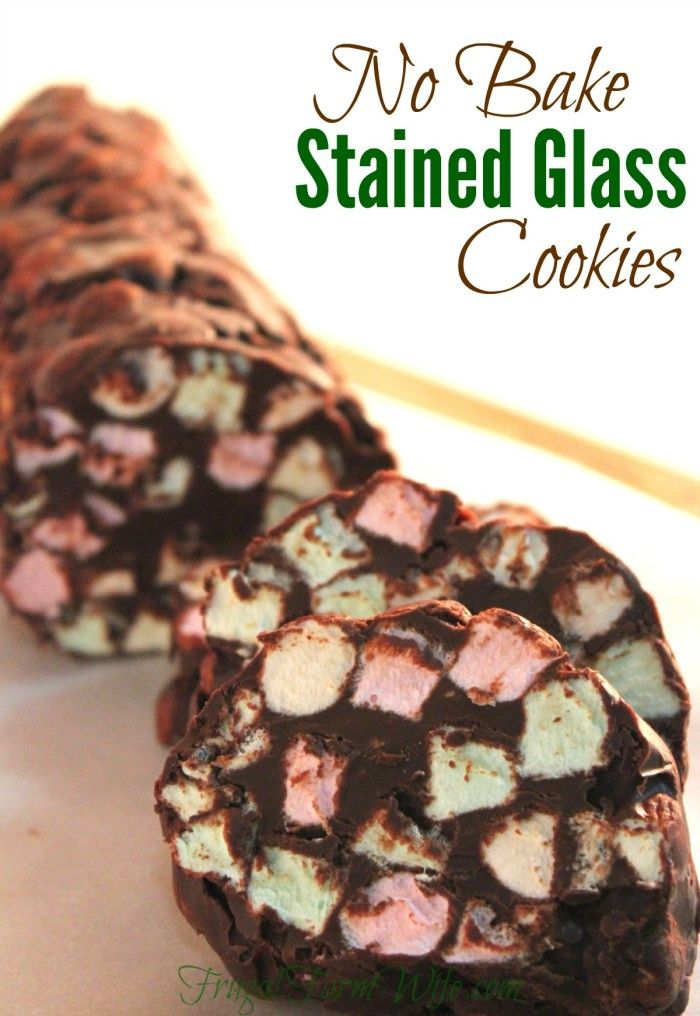 These no-bake stained glass cookies are a a crowd pleaser! Kids love the color, adults love the chocolate. My family couldn't keep their hand off of them!