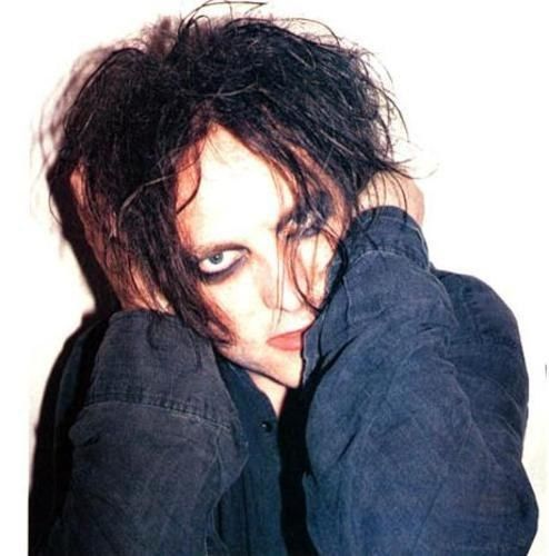 Musician Robert Smith from The Cure and Siouxsie and the Banshees.