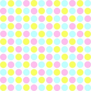 Pastel primary colors polkadots 12x12 inch printable I designed for scrapbooking and paper crafting