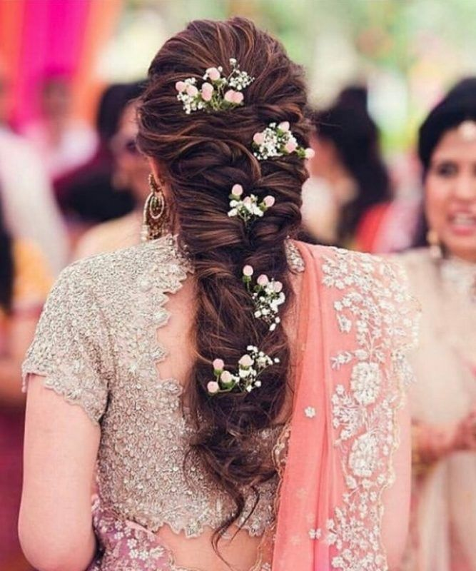 30 Engagement Hairstyles For Brides To Be Bridal Hairstyle Indian Wedding Engagement Hairstyles Indian Bridal Hairstyles