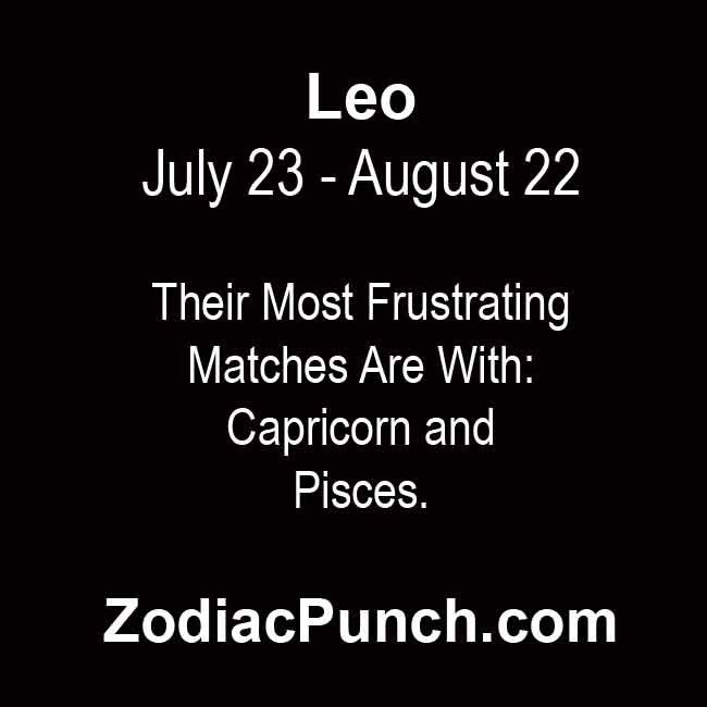 What Signs Are Most Compatible With Leo