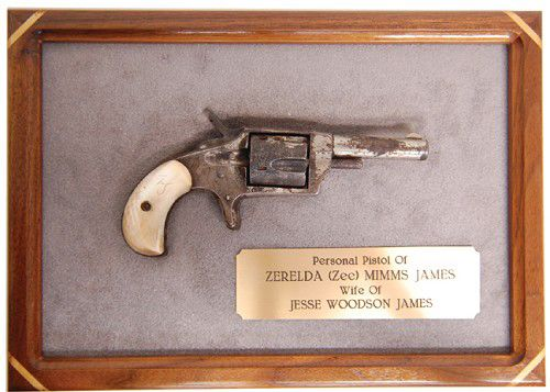 Jesse James Outlaw Guns | ... the legendary outlaw jesse james for his wife zee james is expected to