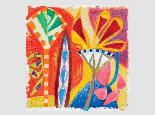 Gillian Ayres | Paintings | Works on paper | Editions | Monoprints - Gillian Ayres - Editions