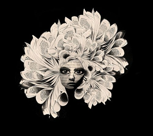 book head    (by Bronia sawyer)