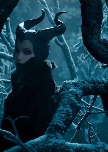 Angelina Jolie as Maleficent. My fave villain turned into a live action movie. Can't wait!