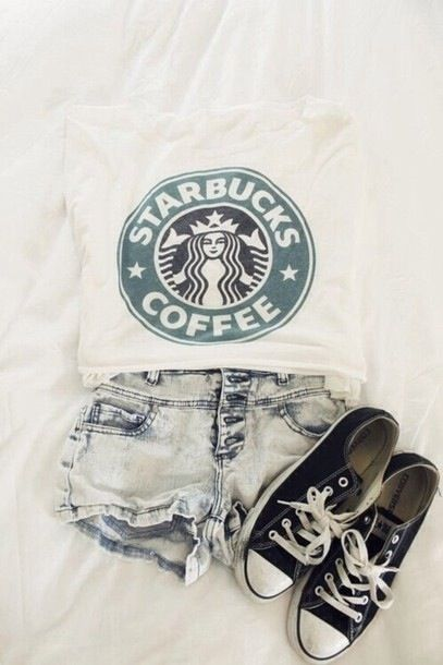 I don't like coffee... but I love this shirt, and my sis would love it... she DOES love Starbucks :)