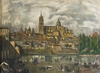 Vista de Salamanca by Jose Manuel Gonzalez Ubierna
