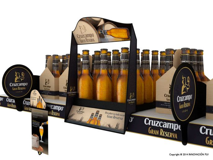 Cruzcampo - shelf dressing