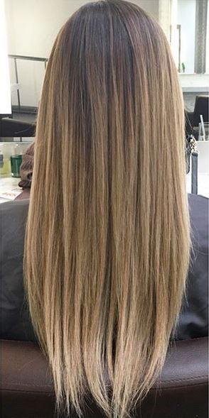 very natural looking bronde hair color