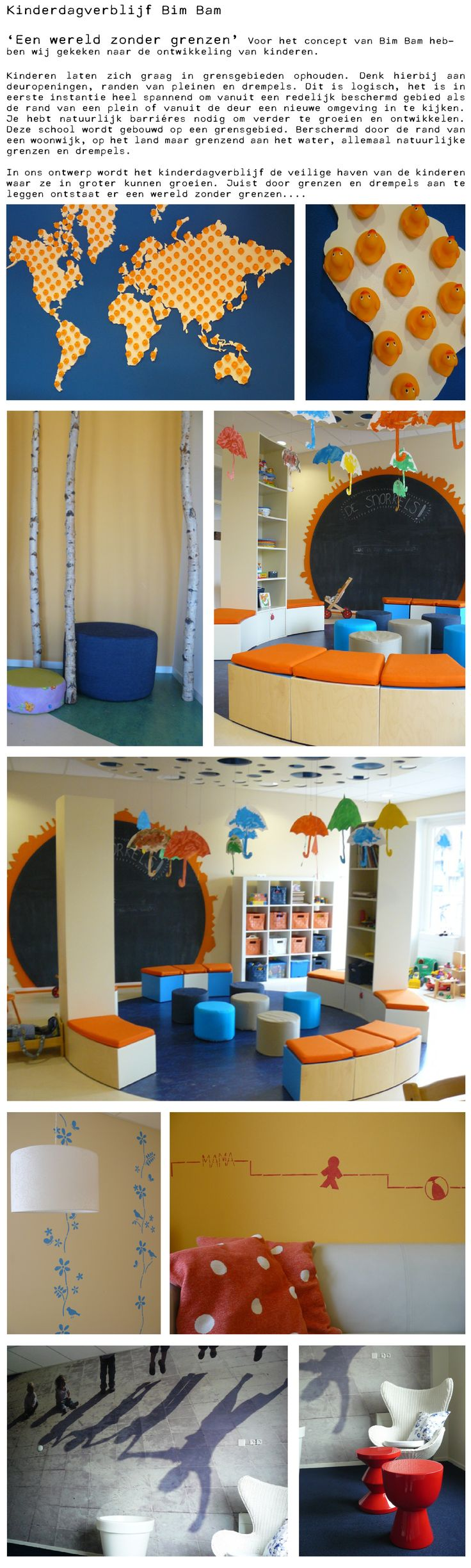 Interieur scholen en kinderdagverblijven - project Bimbam