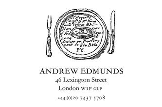 Andrew Edmunds | Soho  Good wine list and atmosphere