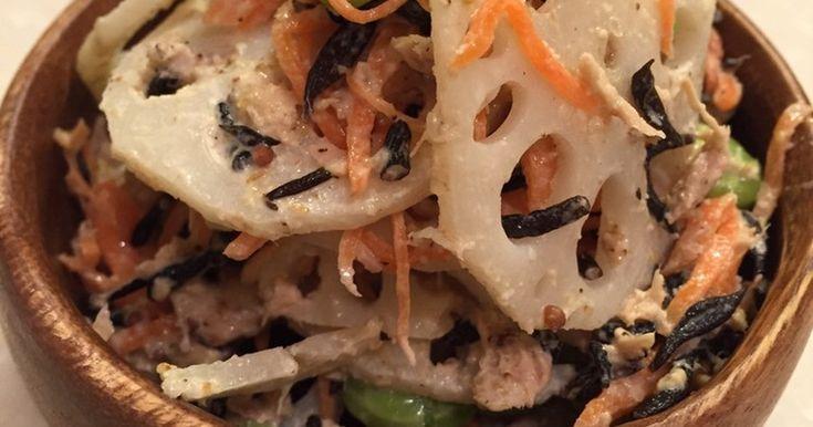 人気検索1位感謝‼︎ 鉄分と食物繊維がたっぷり!美容にいいサラダです♪