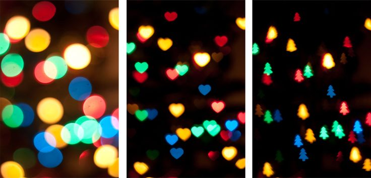How To: Get Different Bokeh Shapes // Life of Kitty  Want interesting bokeh? This simple guide will give you all the steps you need to take to recreate. Perfect for Christmas lights and adding interest to your festive photos.