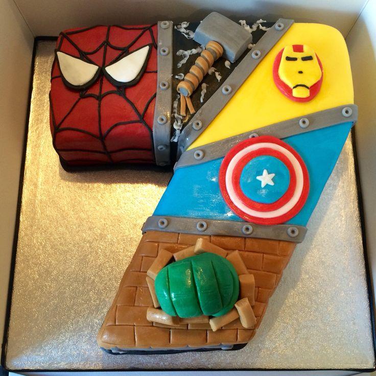 17 migliori idee su Torte Di Compleanno Avengers su Pinterest  Torta ...