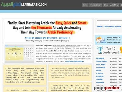 Product Name: LearnArabic.Com | Learn Arabic Online The Quick & Smart Way!   Click here to get LearnArabic.Com | Learn Arabic Online The Quick & Smart Way! at discounted price while it's still available…    All orders are protected by SSL encryption – the highest industry...