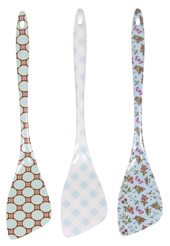 Rice dk Melamine Turners Set of 3 from HUSET