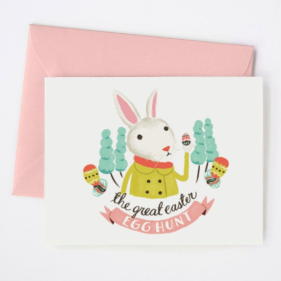 Easter Egg Hunt Card