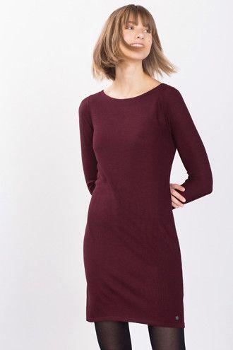 Esprit / Robe-pull chinée finement texturée