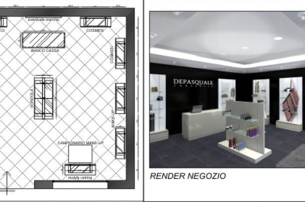 PROGETTAZIONE DI INTERNI #progettazione #di #interni #casa #negozi # ...