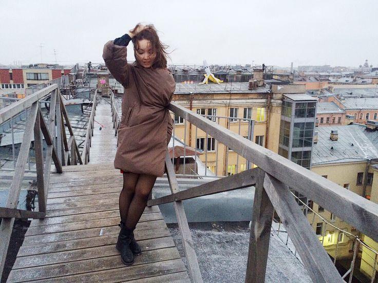 Duvet coats for winter