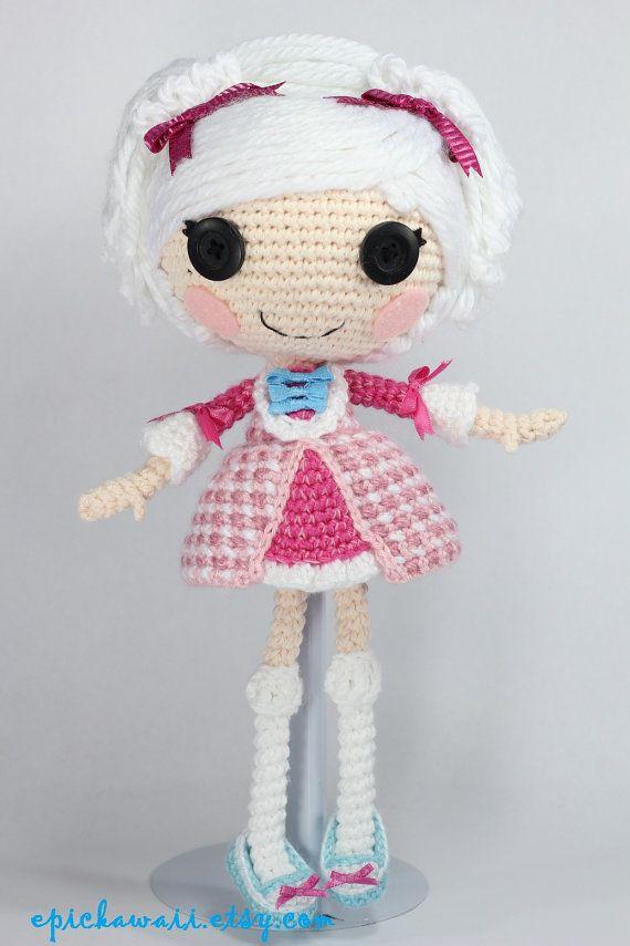 PATRÓN: Suzette Crochet Amigurumi muñeca por epickawaii en Etsy