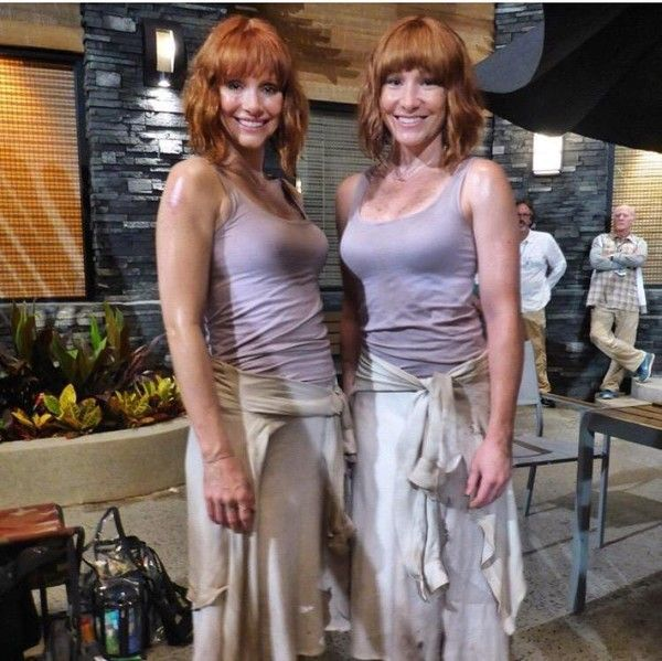'Jurassic World' - Mind-Bending Photos of Actors and Their Stunt Doubles - Photos