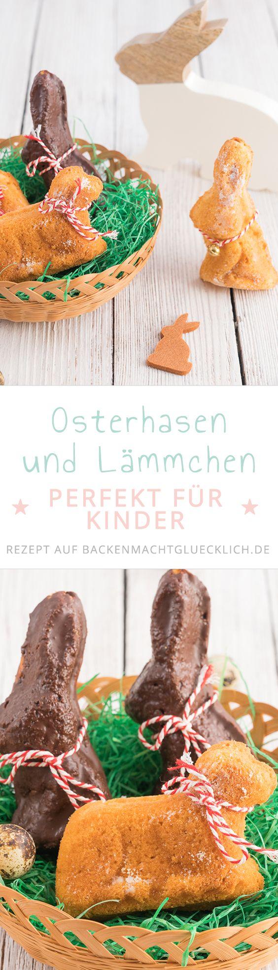 Osterlämmer aus saftigem Rührteig sind eine schöne Oster-Tradition. Dieses Osterlamm zum Anbeißen ist perfekt auch fürs Backen mit Kindern: Einfacher Teig, große Wirkung