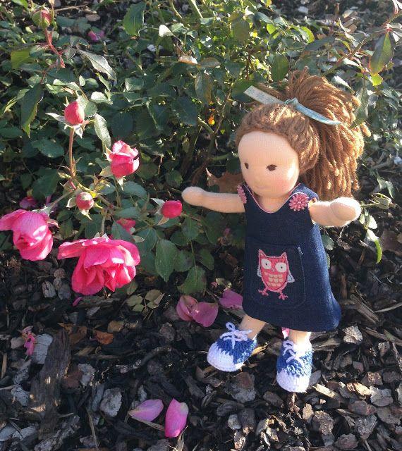 Littlehanny: Sera, die kleine Waldorfpuppe