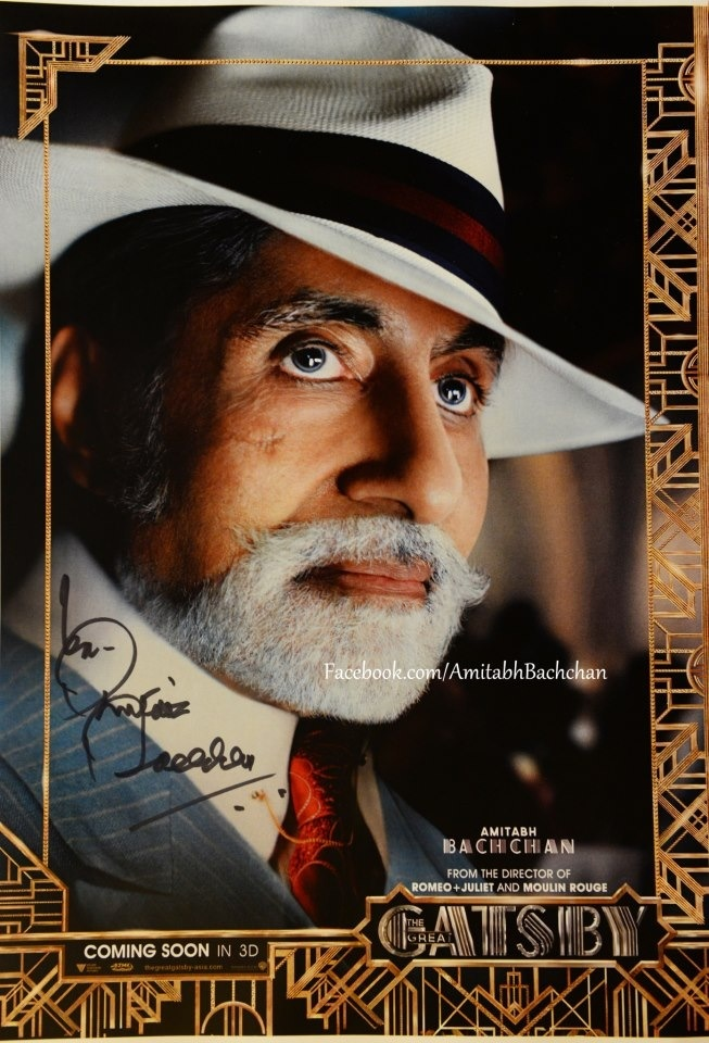 Amitabh Bachchan (most popular bollywood actor in the world)