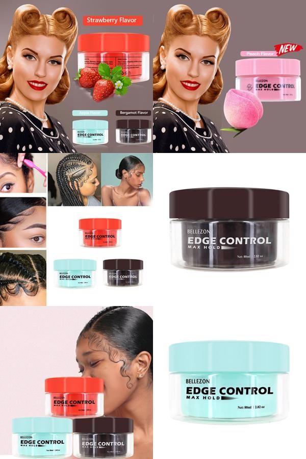 Fancy Men Female Hair Oil Wax Cream Edge Control Hair Styling