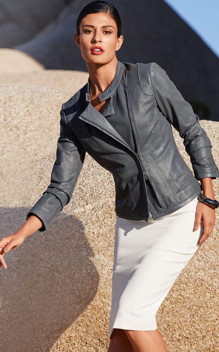 Leather jacket fashion - Find This Pin And More On Rzeczy Do Noszenia Madeleine Leather Jacket