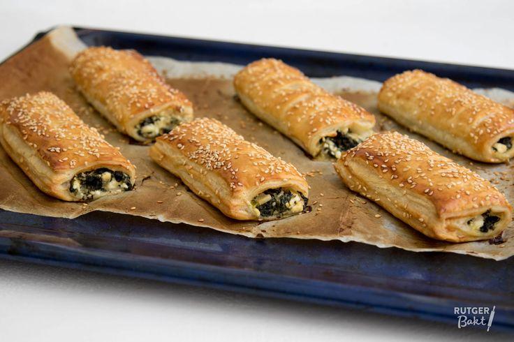 Recept: Spinazie-fetabroodjes   Rutger Bakt   Bloglovin'