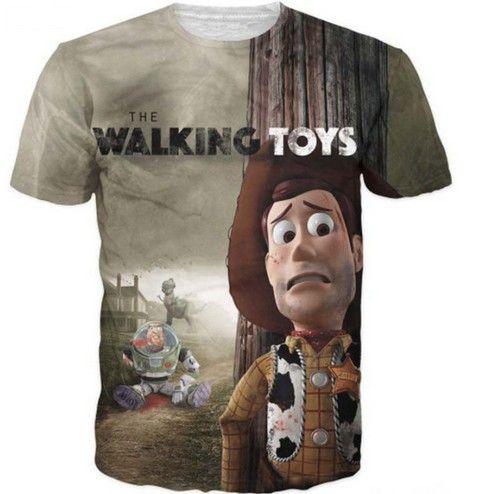 Moderní tričko s 3D potiskem The Walking Toys – VELIKOST L Na tento produkt se vztahuje nejen zajímavá sleva, ale také poštovné zdarma! Využij této výhodné nabídky a ušetři na poštovném, stejně jako to udělalo …