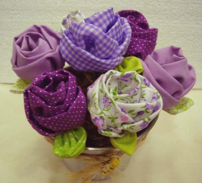 como fazer flores de tecido 8.jpg (660×600)
