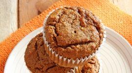 pumpkin chia muffin