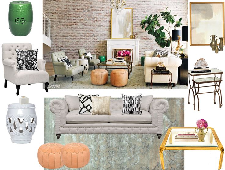 Shop Lauren Conrads Feminine Loft Inspired Living Room