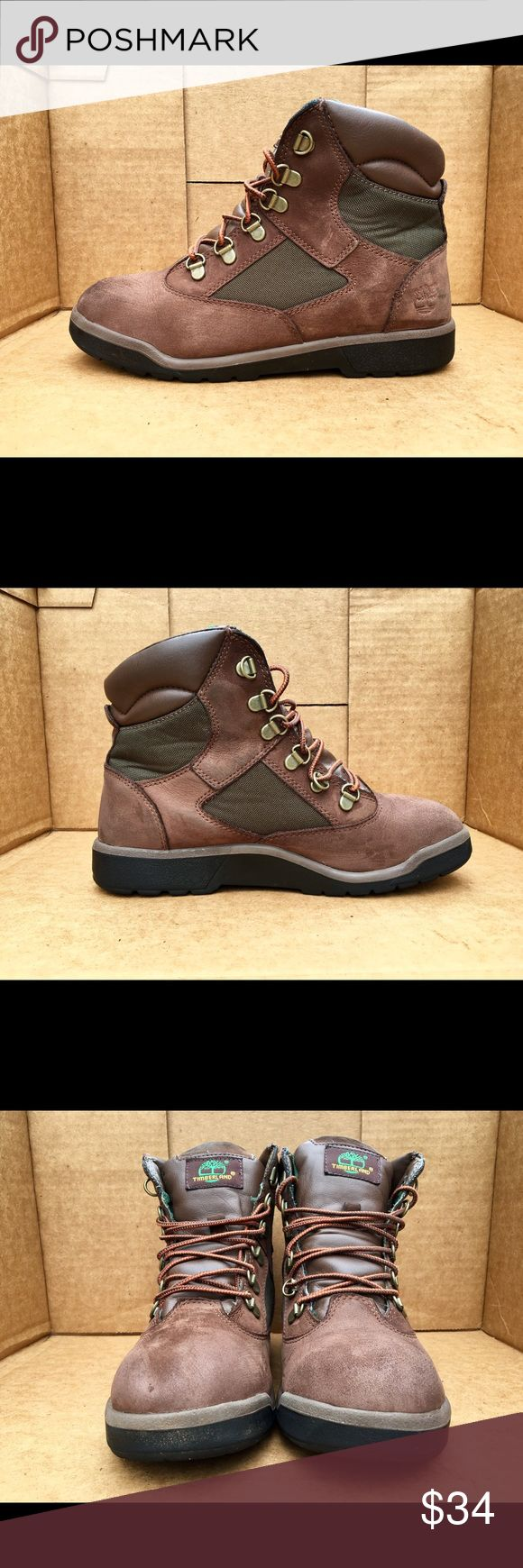 Kids Timberland field boots size 6 Great condition. Very small Toe scuff as shown. Timberland Shoes Boots