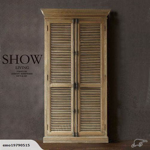ANCIENT GREEK ARCHITECTURAL STYLE SHUTTER CABINETS | Trade Me