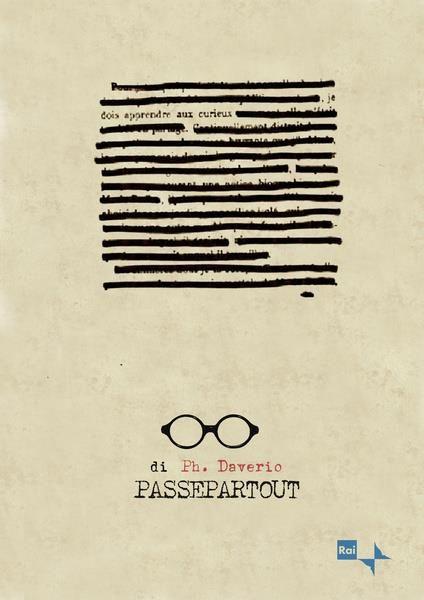 Passepartout - Philippe Daverio - Locandina by Stefano Reves