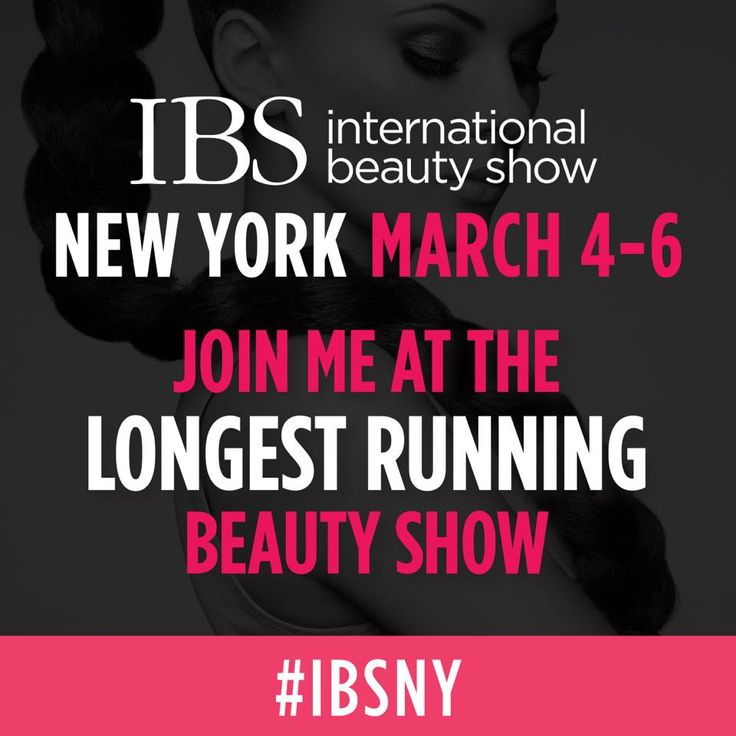 Join us at the longest running beauty show in New York at International Beauty Shows this Sun-Tues! #IBSNY #TradeShow #Exhibiting #MyAppointments #SchedulingSoftware