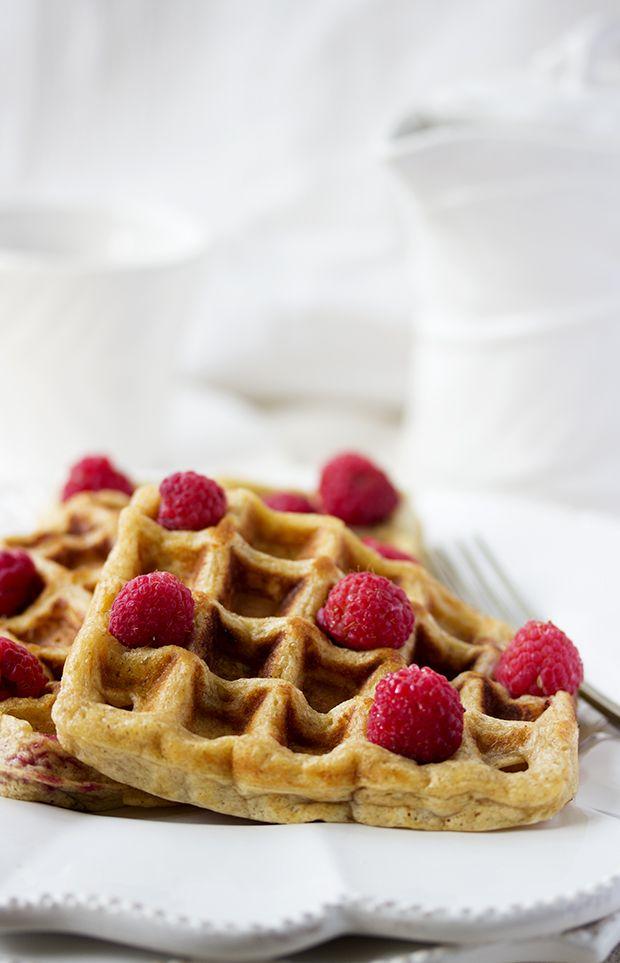 ... raspberry waffles ...