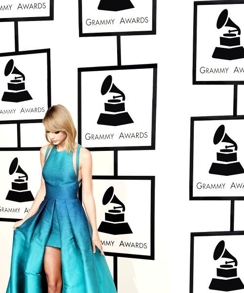 at the 57th Grammys