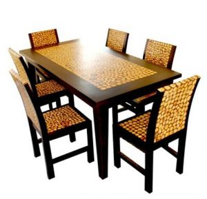 dengan kursi makan mewah tampilan ruang makan anda lebih mewah, harga kursi makan mewah, kursi makan modern, model kursi makan, kursi makan murah, furniture jati mewah