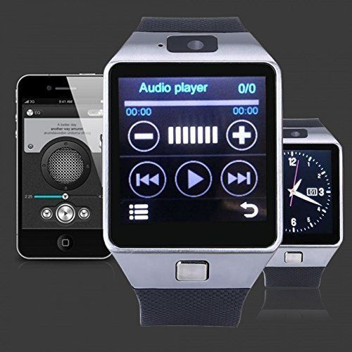 Bluetooth Smart Watch iOS Android Sim Camera Pedometer Anti-lost Sleep Tracker #SmartWatchiOSAndroid